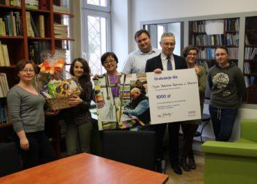 3-cia nagroda dla biblioteki!