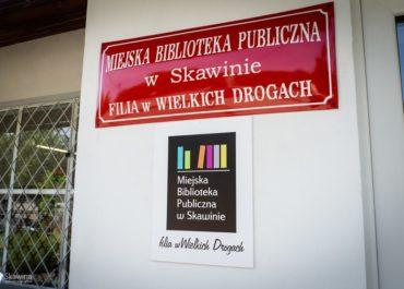 Biblioteka w Wielkich Drogach otwarta!