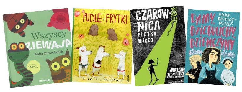 najlepsze ksiązki dla dzieci