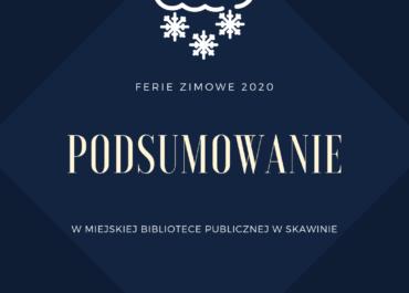 FERIE 2020 - podsumowanie