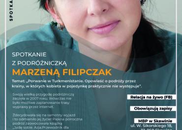 SPOTKANIE Z MARZENĄ FILIPCZAK - 2 X 2020