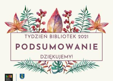TYDZIEŃ BIBLIOTEK - podsumowanie!