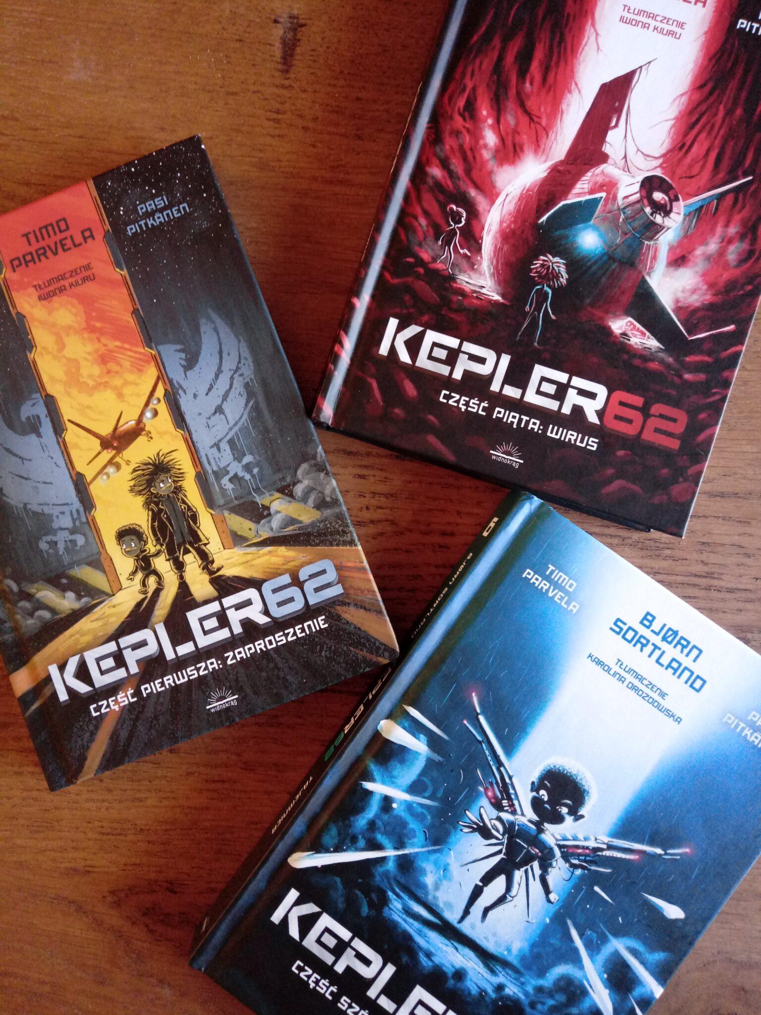 "seria ""Kepler62"" / Timo Parvela, Bjørn Sortland"