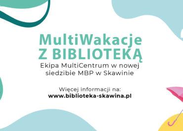 MultiWakacje z Biblioteką 2021