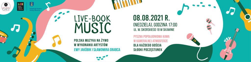 Plakat promujący koncert, 8 sierpnia 2021 o godz. 17:00.